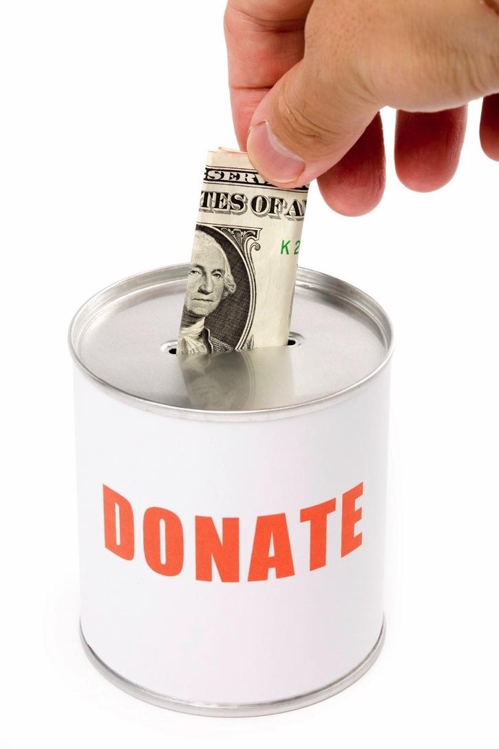 Сделать пожертвование